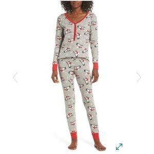 Nordstrom NWT Lingerie Sleepyhead Thermal Pajamas